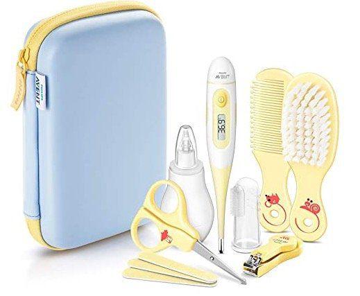 Philips Avent Babypflege Set mit 10 Teilen ab 16€ (statt 22€)