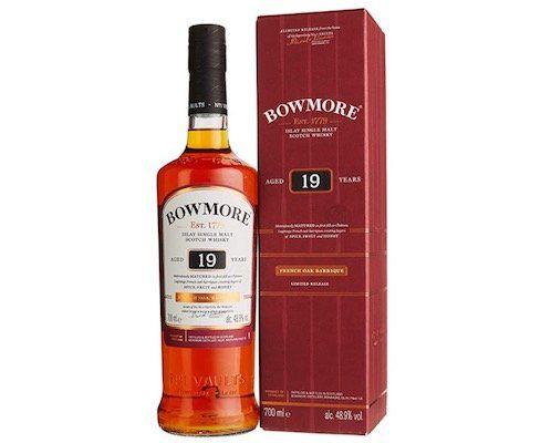 Bowmore 19 Jahre Single Malt Scotch Whisky für 85,47€ (statt 97€)