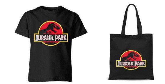 Bundle aus Jurassic Park T Shirt und Einkaufstasche für 11,48€ (statt 22€)