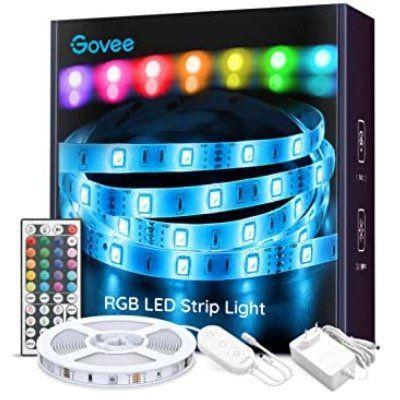 Govee 5 Meter RGB LED Streifen inkl. Fernbedienung für 11,89€ (statt 17€)   Prime