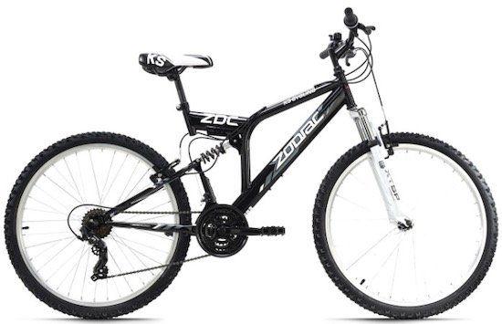 KS Cycling Mountainbike Fully 26 Zoll Zodiac 21 Gänge für 175,99€(statt 213€)