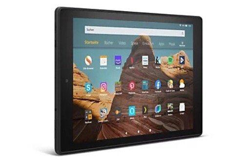 Amazon Fire HD 10 Tablet mit 64GB für 96,51€ (statt 120€)