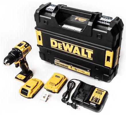 DeWalt DCD708D2T Akku Bohrschrauber inkl. 2 Akkus + Koffer für 131,18€ (statt 175€)