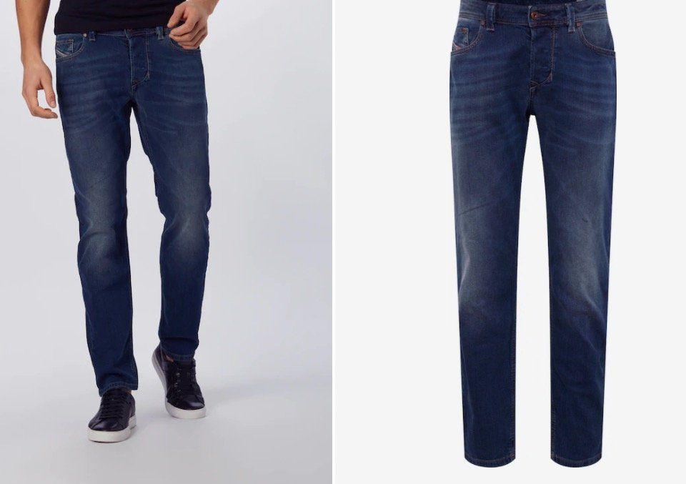 Diesel Larkee Beex Herren Jeans in Blue Denim für 50€(statt 87€)