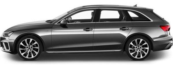 Gebraucht: Audi A4 Avant mit 190 PS im Leasing für 296€mtl.