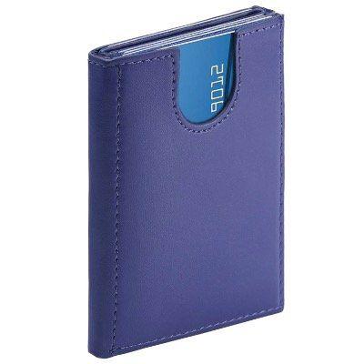 Mini Leder Kreditkartenetui mit RFID Schutz und Münzfach für 5 12 Karten für 8€ (statt 20€)