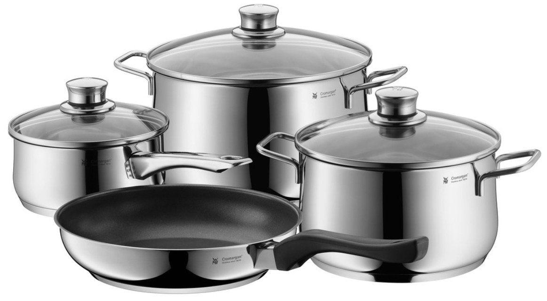WMF Sale bei Rakuten   z.B. WMF Trend Plus 4 tlg. Kochgeschirr (Cromargan) für 139,99€ (statt 178€)