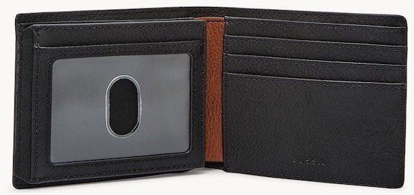 Fossil Jerome Geldbörse Flip ID Bifold inkl. gratis Prägung für 18,40€ (statt 44€)