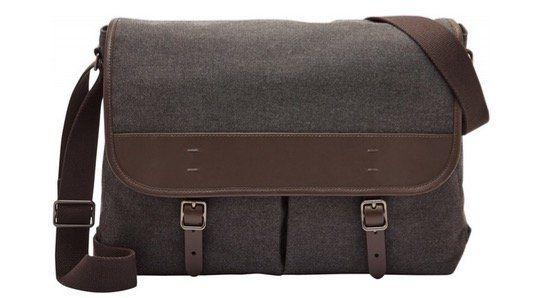 FOSSIL Herren Messenger Tasche Buckner für Notebooks bis 16 Zoll für 68€ (statt 111€)