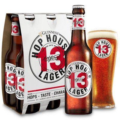 Sixpack Guiness Hop House 13 Lager gratis probieren   bei Nichtgefallen Kaufpreis zurück
