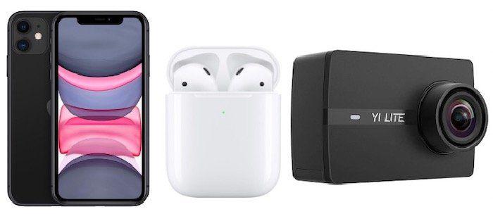 Magenta + Young: Apple iPhone 11 + Apple AirPods 2 + Yi Action Cam nur 29,95€ + Telekom Flat mit 24GB + StreamOn für 39,95€mtl.