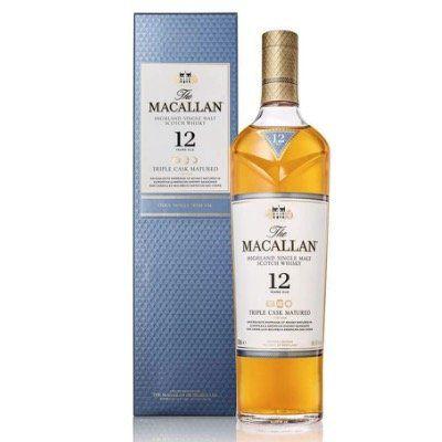 Macallan 12 Years Old Triple Cask Single Malt Whisky (1x 0,7 Liter) für 53,99€ (statt 60€)