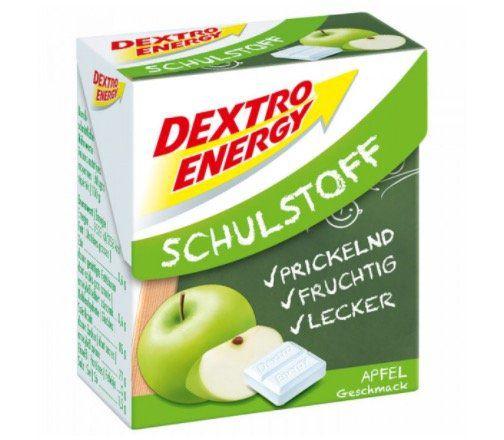 Abgelaufen! 6er Pack Dextro Energy Schulstoff Traubenzucker Apfel Geschmack ab 0,93€ (statt 6€)   Prime