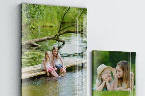 Acrylglas Foto 40x40cm für 13,80€ oder 80x60cm für 20,80€
