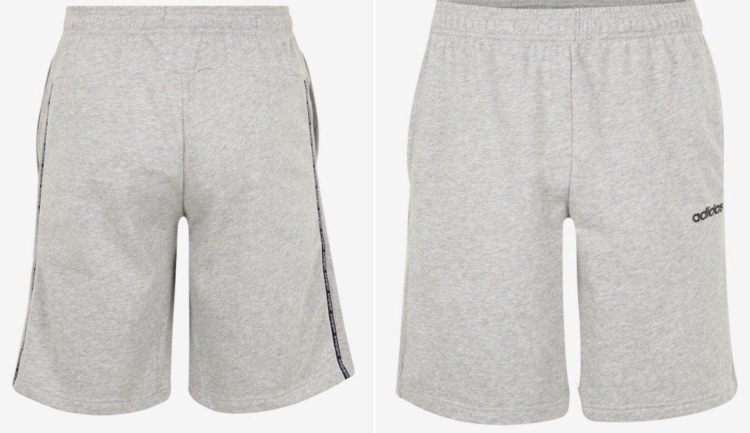 adidas Matmix S Sport Shorts in Hellgrau für 13,90€ (statt 28€)   S, M, L