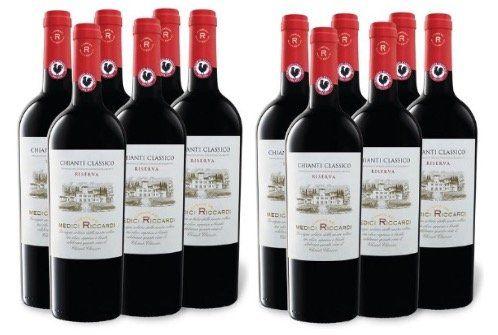 12x Viajero Casato dei Medici Riccardi Chianti Classico DOCG Riserva für 58,46€   nur 4,87€ pro Flasche