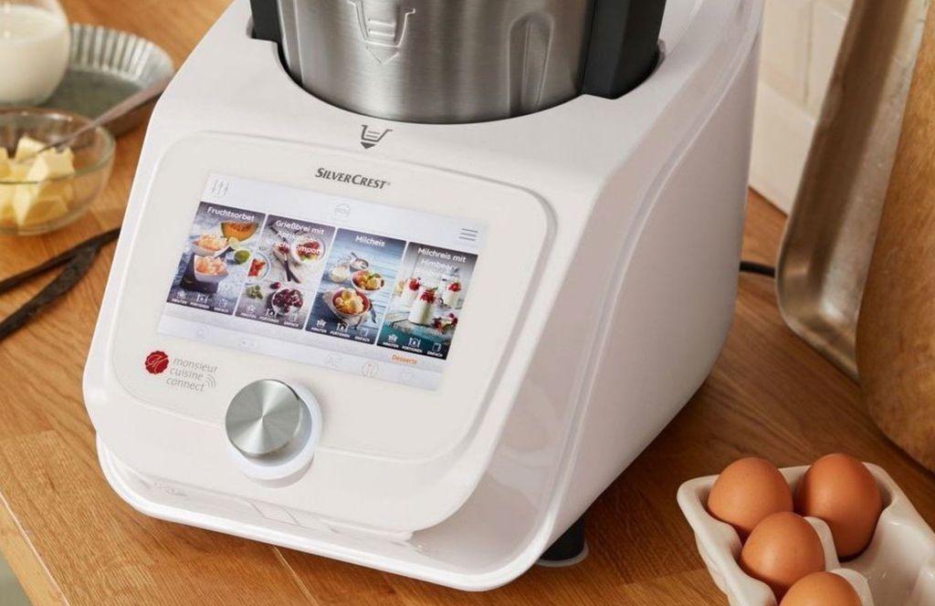 Silvercrest Monsieur Cuisine Connect Küchenmaschine für 379,90€   Ausstellungsstücke