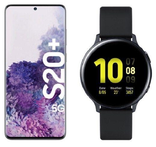 Knaller! 🔥 Samsung Galaxy S20+ 5G inkl. Galaxy Watch Active2 für 19€ + o2 Free Unlimited LTE für 49,99€mtl.