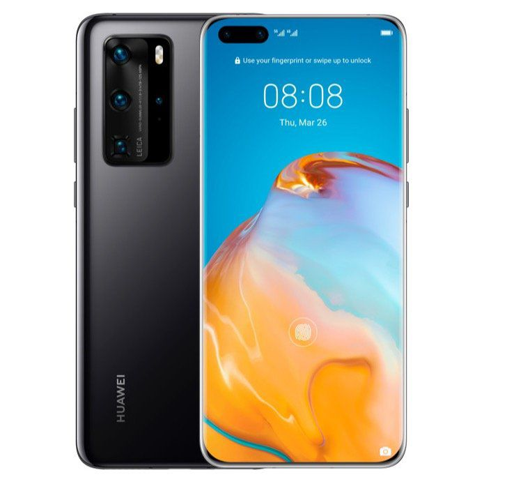 HUAWEI P40 Pro 256GB Black Dual SIM für 579€ (statt 655€)