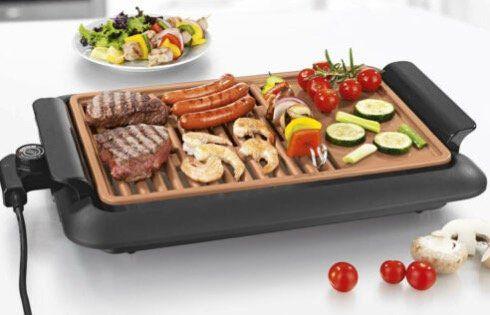 GOURMETmaxx Beef Elektro Grill mit 2 Grillflächen für 29,95€(statt 35€)