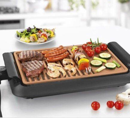 GOURMETmaxx Beef Elektro-Grill mit 2 Grillflächen für 34,95€(statt 40€)