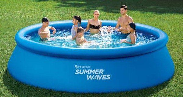 Summer Waves Quick Up Pool (396 x 84 cm) inkl. Filteranlage für 72€ (statt 109€)