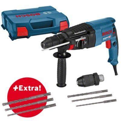 Bosch Bohrhammer GBH 2 26F Professional mit SDS830W inkl. 6 Bohrern für 155,96€ (statt 195€)