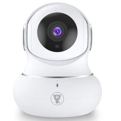 Babyphone Überwachungskamera 1080P mit WLAN  und 2 Wege Audio für 29,99€ (statt 50€)