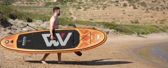 Aqua Marina SUP Board Fusion mit 1 Zentralfinne inkl. Pumpe, Paddel und Tasche für 324,61€ (statt 380€)