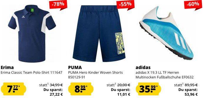 10% Rabatt auf ALLES bei SportSpar ohne MBW + keine VSK ab 50€   z.B. Diesel T Shirts ab 17,99€