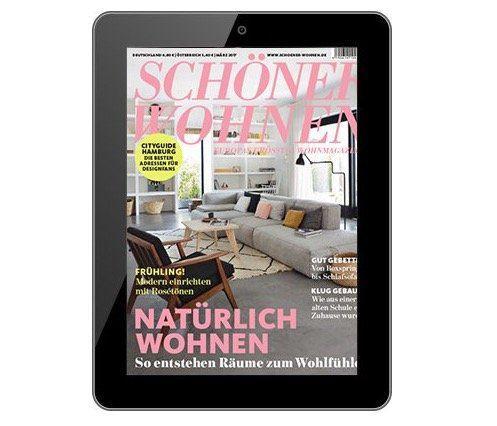 Jahresabo Schöner wohnen als E-Paper direkt nur 1€ (statt 49€)