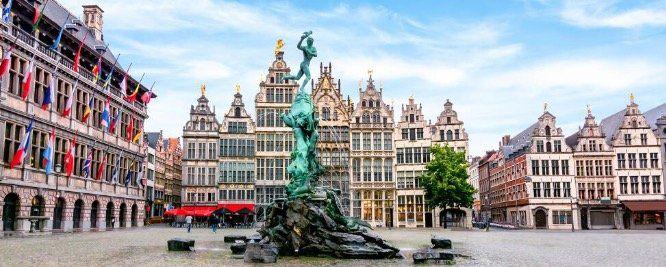 ÜN im 4* Hotel Hampton by Hilton Antwerp Central Station mit Frühstück ab 42,50€ p.P.