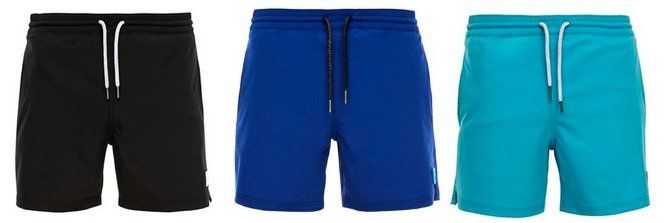 s.Oliver Badehosen Shorts in verschiedenen Farben und Größen für 13,90€ (statt 18€)