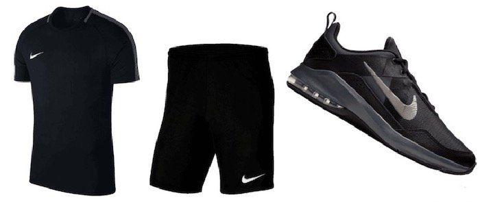 Nike Trainingsset 3 teilig inkl. Air Max Alpha Trainer II für 72,95€ (statt 89€)