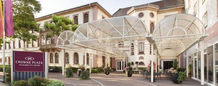 1ÜN im 4* Hotel Crowne Plaza Heidelberg City Centre mit Frühstück ab 54€ p.P.