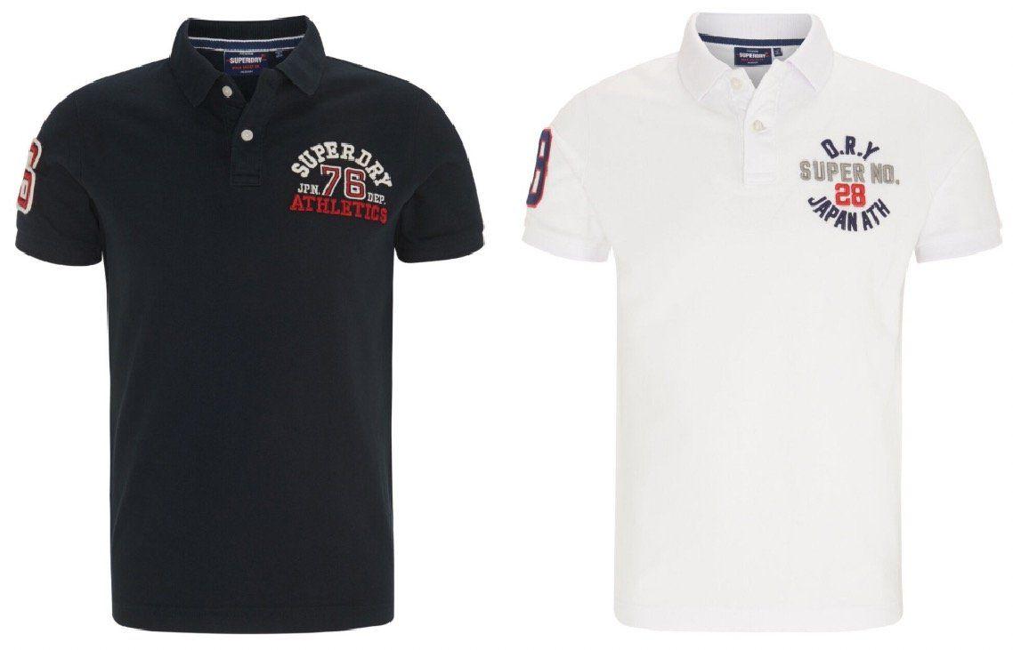 Superdry Poloshirt mit Logo Stickereien ab 25,92€ (statt 50€)   M, L, XL