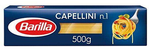 Vorbei! 500g Barilla Pasta Capellini n.1 ab 0,63€ (statt 1,59€)   Prime