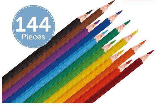 144er Pack Berol Buntstifte in 12 Farben für 20,90€ (statt 34€)