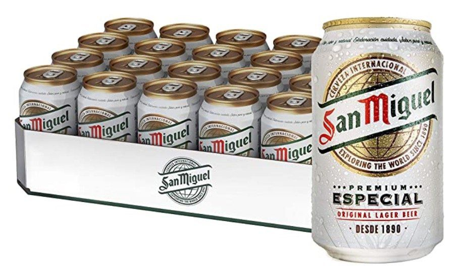 24er Pack San Miguel Especial Bier je 0,33l für 9,09€ zzgl. 6€ Pfand