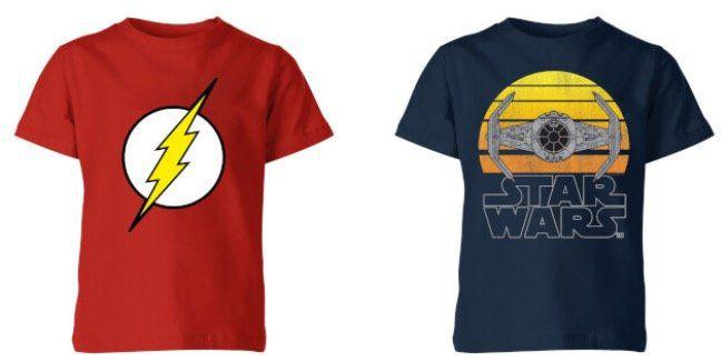 2er Pack Kinder Motiv Shirts für 14,48€ (statt 23€)