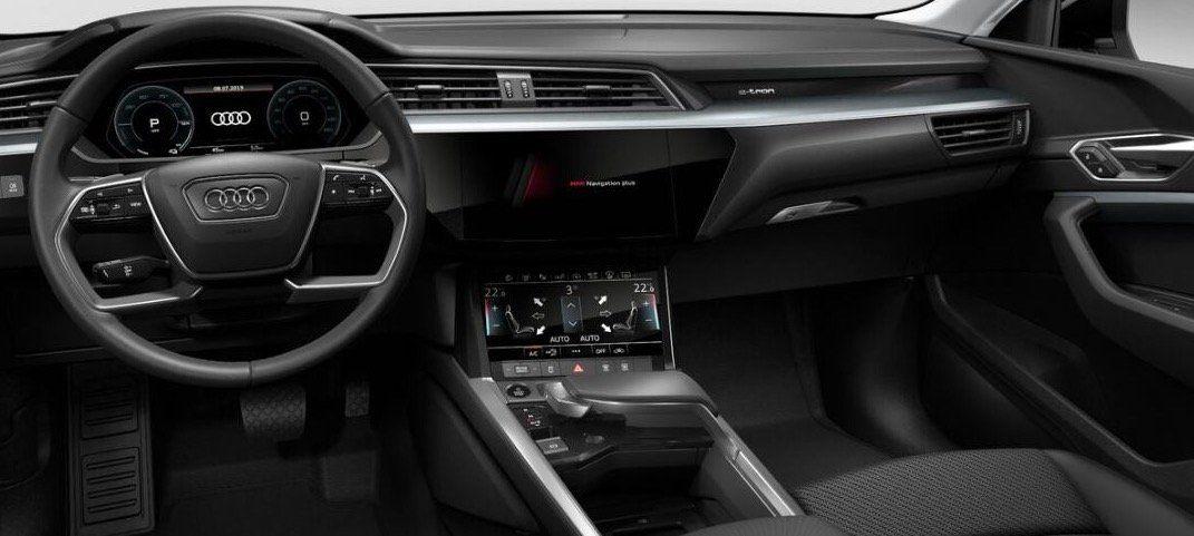 Für Schwerbehinderte: Audi e tron Sportback 50 quattro mit 313 PS für 339,88 mtl.   LF: 0.62