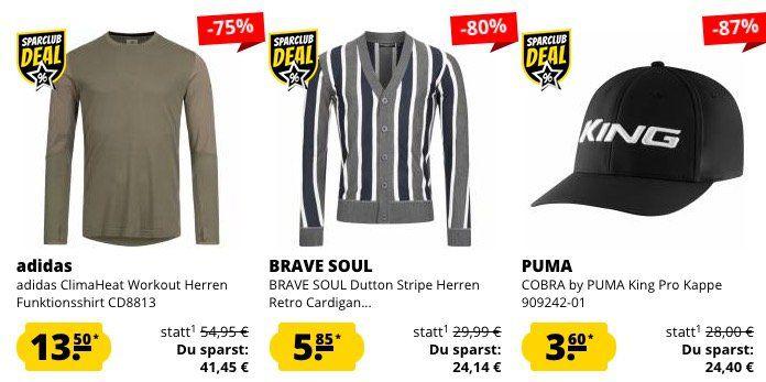 SportSpar Restgrößen Sale   z.B. ASICS Knit Herren Sport Shorts für 5,45€