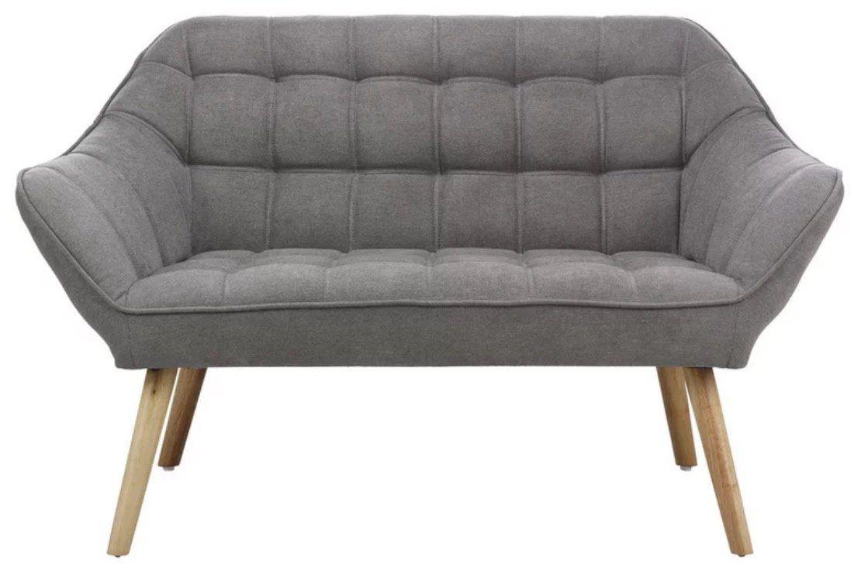Zweisitzer Sofa Monique mit Holzfüßen für 174,30€ (statt 249€)