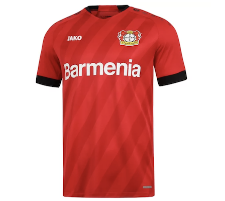 Jako Bayer 04 Leverkusen Trikot Home (2019/2020) für 33,98€ (statt 45€)