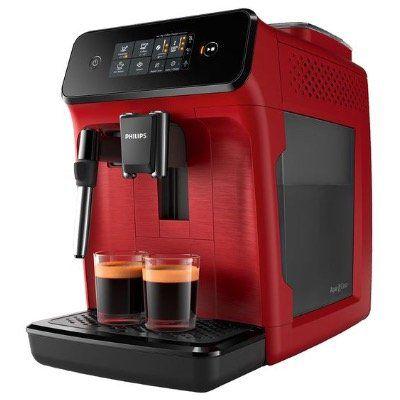 Philips Kaffeevollautomat EP1222 (1,8L, Milchaufschäumer) in Rot ab 212,43€ (statt 250€)