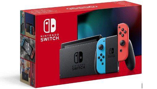 Nintendo Switch mit Joy Cons in Neon für 294€ (statt 325€)