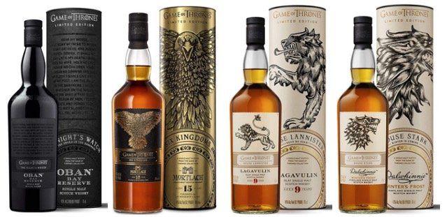 Game of Thrones Whisky mit Sparabo Trick   z.B. Lagavulin 9 Years Haus Lannister für 43,87€ (statt 59€)