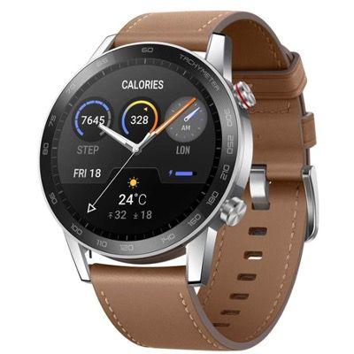 HONOR MagicWatch 2 Smartwatch in Braun (46mm) mit Herzfrequenz  & Stressmonitor für 119,99€ (statt 139€)