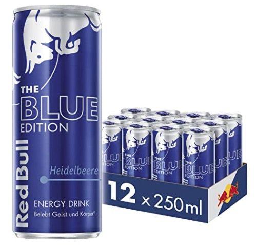 48er Pack Red Bull Energy Drink Heidelbeere Blue Edition ab 32,19€ + 12€ Pfand