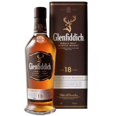 Glenfiddich Single Malt Scotch Whisky 18 Jahre (0,7l 40%) für 59€ (statt 63€)